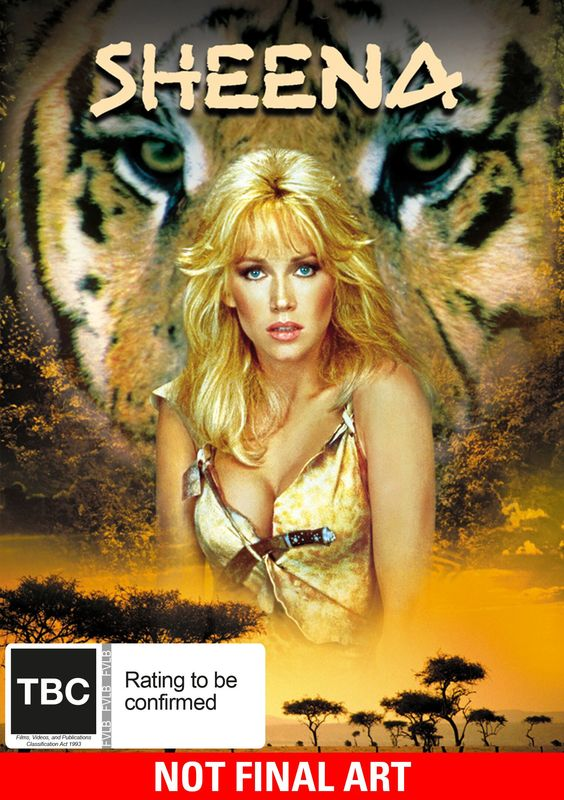 Sheena: Queen Of The Jungle on DVD