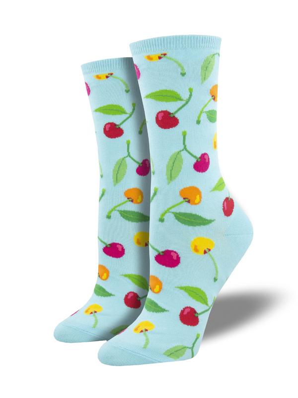 Socksmith: Cherries - Blue