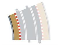 Scalextric 22.5 Degree Radius 4 Curve Inner Track Borders