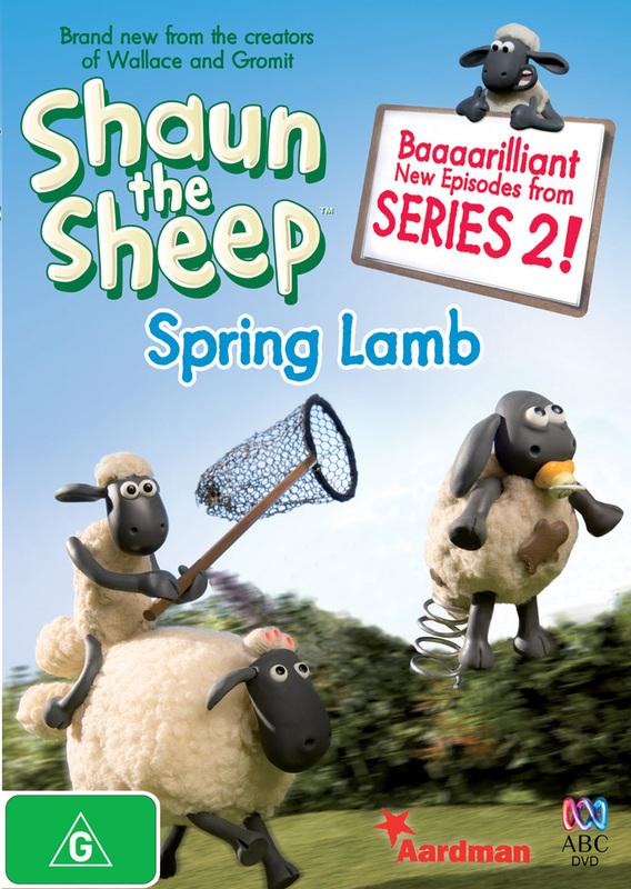 Shaun the Sheep - Spring Lamb on DVD
