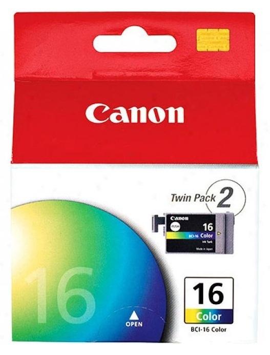 Canon Ink Cartridge BCI-16 2pk Colour