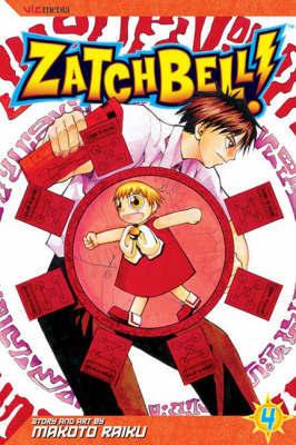 Zatch Bell!: v. 4 by Makoto Raiku
