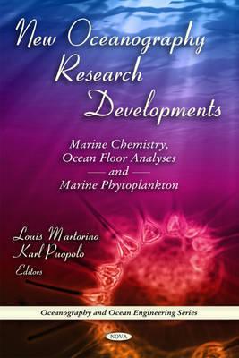 New Oceanography Research Developments