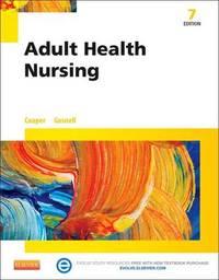 Adult Health Nursing by Kim Cooper image