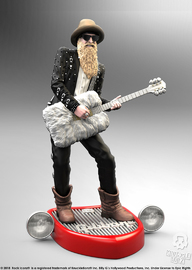 "Rock Iconz: Billy F Gibbons - 9"" Statue"
