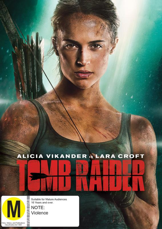Tomb Raider on DVD