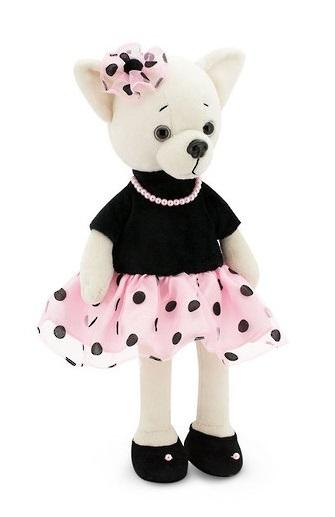 "Lucky Doggy: Lucky Lili (Pearl) - 17"" Plush Doll"