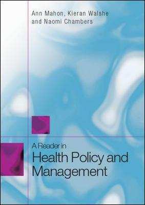 A Reader in Health Policy and Management by Kieran Walshe image