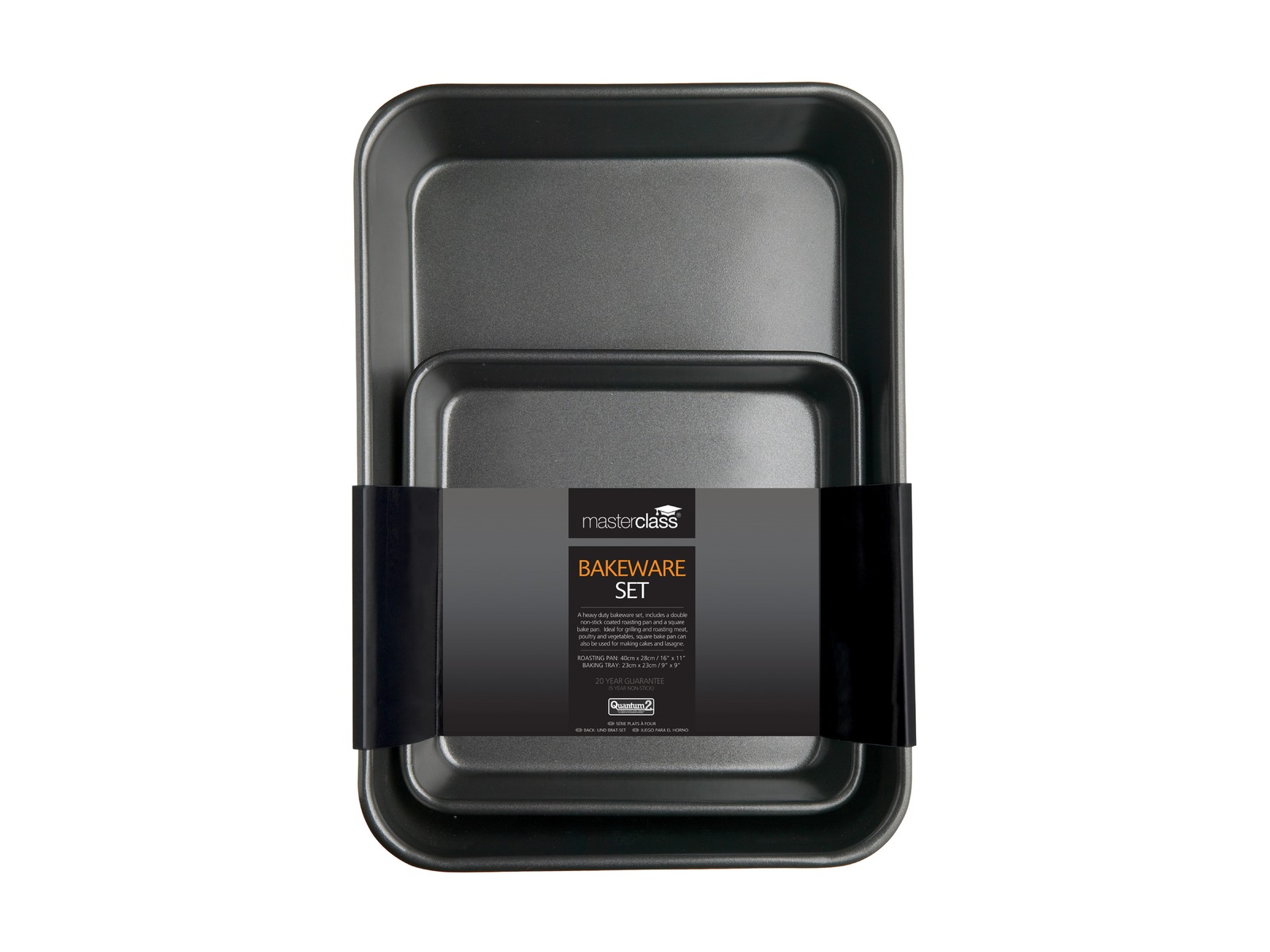 MasterClass: Non-Stick Bakeware Twin Pack (39cm) image