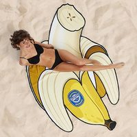 BigMouth Gigantic Beach Blanket - Banana