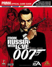 James Bond 007: From Russia with Love - Prima Official Guide for PlayStation 2