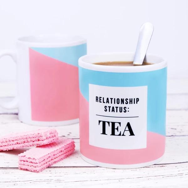 Relationship Status Tea Mug - Boxed