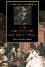 The Cambridge Companion to the Eighteenth-Century Novel image