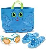 Melissa & Doug - Octopus Beach Tote Gift Set (age 3-4)