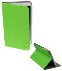 OMP Tablet Pinstripe Folio for iPad Air (Green)