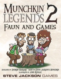 Munchkin Legends 2: Faun and Games image