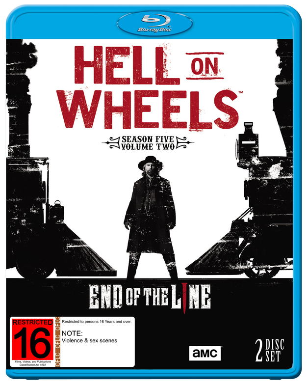 Hell on Wheels: Season Five - Part 2 on Blu-ray