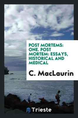 Post Mortems by C. MacLaurin image