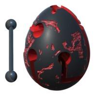 Smart Egg: 1-Layer Labyrinth Game - Lava