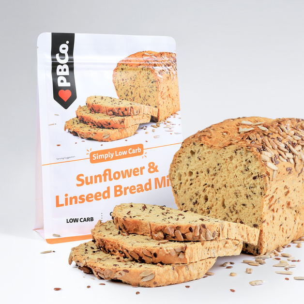 PBCo. Low Carb Sunflower and Linseed Bread (340g)