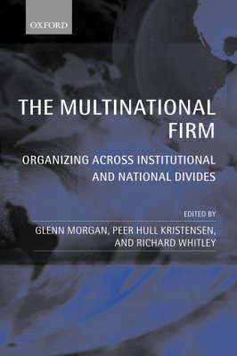 The Multinational Firm image