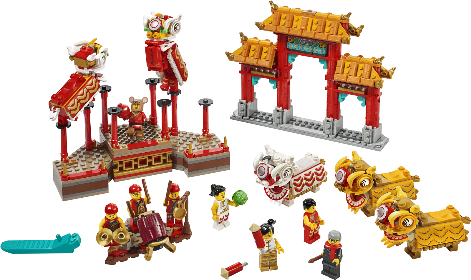 LEGO: Chinese New Year - Lion Dance (80104) image
