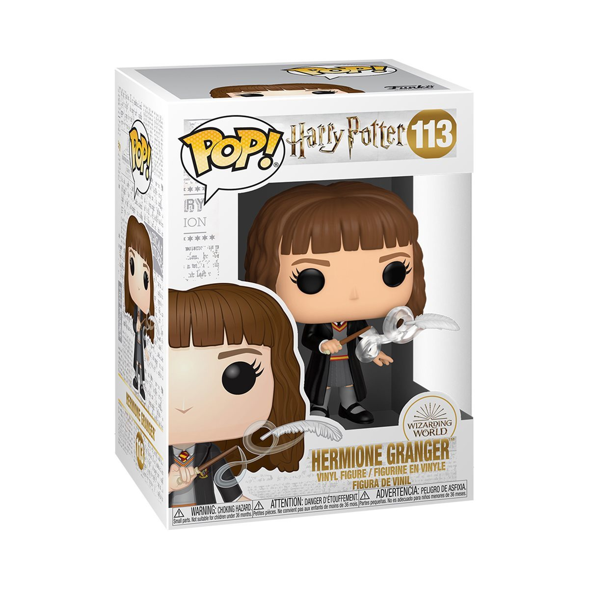 Harry Potter: Hermione Granger (with Feather) - Pop! Vinyl Figure image