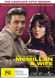 Mcmillan and Wife - The Complete Fifth Season on DVD