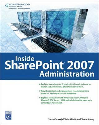Inside Sharepoint Administration by Shane Young