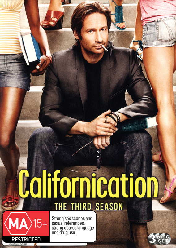 Californication - The 3rd Season on DVD