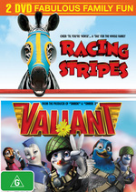 Racing Stripes / Valiant (2 Disc Set) on DVD