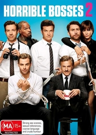Horrible Bosses 2 on DVD