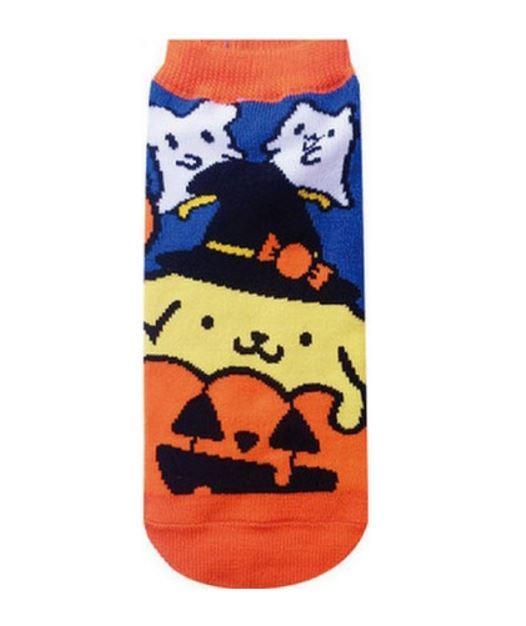 Sanrio: Halloween Pom Pom Purin Pumpkin Socks