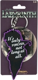 Labyrinth: Jareth Quote Keychain