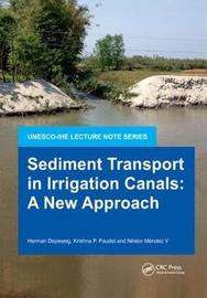 Sediment Transport in Irrigation Canals by Herman Depeweg image