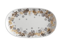 Maxwell & Williams: Yuletide Platter Oblong - Wreath (30x18cm)