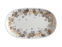 Maxwell & Williams: Yuletide Platter Oblong - Wreath (30x18cm)