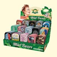 Sugar Free Mints in Retro Tin