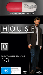 House, M.D. - The Complete Seasons 1-3 (18 Disc Box Set) on DVD