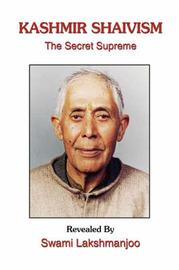 Kashmir Shaivism: The Secret Supreme by John Hughes image