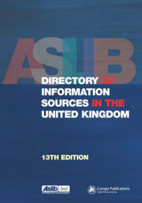 Aslib Directory of Information Sources in the United Kingdom image