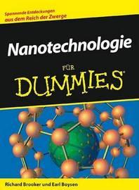 Nanotechnologie Fur Dummies by Earl Boysen image