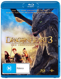 Dragonheart 3: The Sorcerer's Curse on Blu-ray
