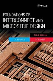 Foundations for Interconnect and Microstrip Design by T.C. Edwards image