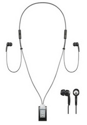 Sony Bluetooth Accessories DRBT20NX Bluetooth  Headphones - In-ear Neckstrap Style.