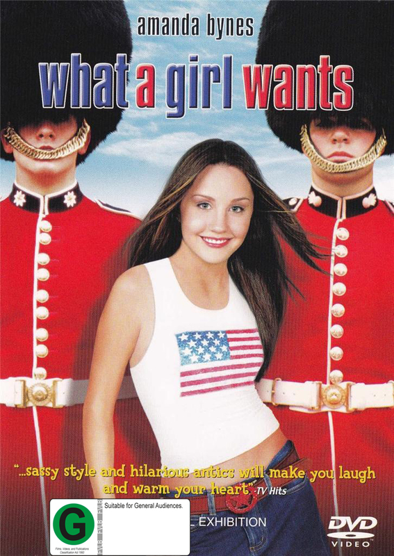 What A Girl Wants on DVD