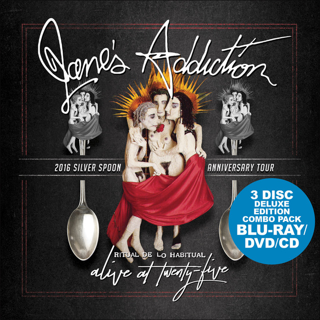 Alive At 25 [BLU RAY + DVD + CD] by Jane's Addiction