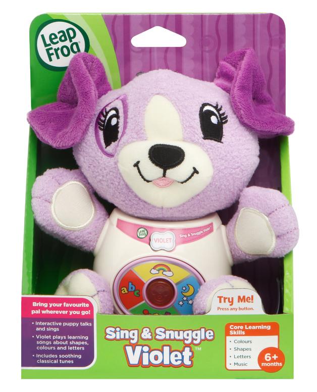 Leapfrog - Sing & Snuggle Violet