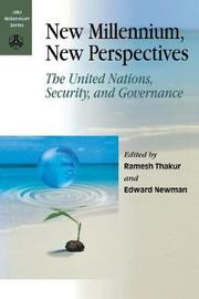 New Millennium, New Perspectives by United Nations University Press