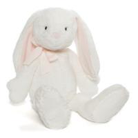 """Gund: Evelyn White Bunny - 21"""" Plush"""